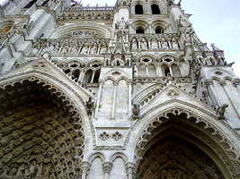 Amiens - Cathedrale 'detail' by dunklerfruehling