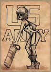 The Army Pinup by p-prilla