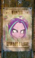Aria Gone Rogue (Wanted Poster) by DigiRadiance