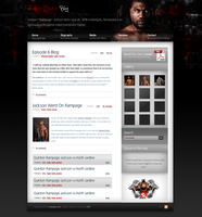 Rampage Jackson Blog by ECP-Pro