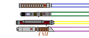Lightsabers by SPARTAN-004