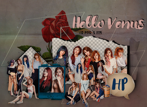 176|HELLO VENUS|Png pack|#04| by happinesspngs