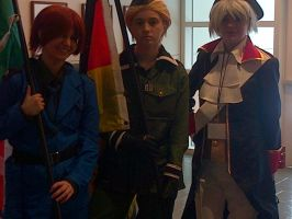 [Setsucon 2013] German Bros and Italy by melodious-nightfall