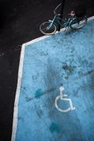Handicap blue by Andross01