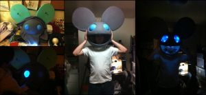 Deadmau5 Head - Commission by AngelCostumes