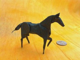 Origami Horse by haomaru87