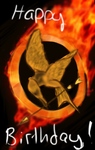 Hunger games logo gift by Silvershine25