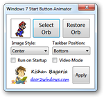 Win 7 Start Button Animator by Kishan-Bagaria