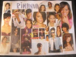 Rihanna Collage by camilah