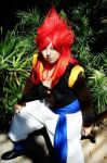 Super Saiyan 4 Gogeta cosplay by Oniakako