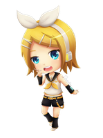 Kagamine Rin by OzenkaLily