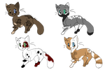 Cat Adoptables: OPEN by xXCatNapperXx