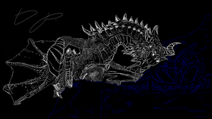 Paarthurnax by DimetraPaywer