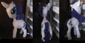 MLP Rarity Plush by IrashiRyuu