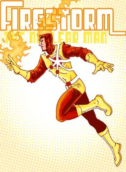 Firestorm: The Nuclear Man by RamonVillalobos