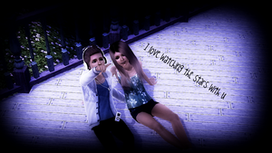 I love watching the stars with u by TheSims3KawaiiMaker