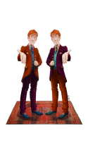 Weasley Twins by 0----0