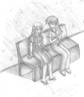 Art trade: Yoruko and Xeni by Watermage244