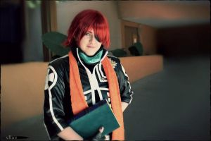 Bookman in Training - D Gray Man - Lavi Cosplay by ShinrasFlurry