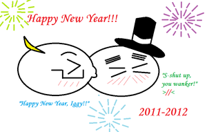 Happy New Year 2011-2012 by Guitarrox5138