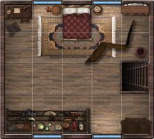 Small Tavern (2nd Floor) by DaceyRose-RPG
