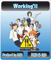 Working'!! - Anime Icon by Rizmannf