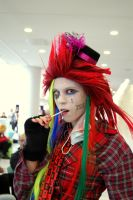 Axel the mad hatter by Flashii-Chili-Pepper