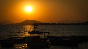 Sunset in Turkey II by phoeniXImagery