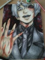 Whats onethousand minus seven? *Tokyo Ghoul* by aBunny15