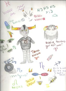 Homestuck Doodles by Mudfire4
