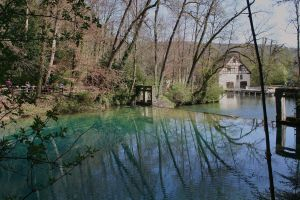 reflections at Blautopf 5 by ingeline-art