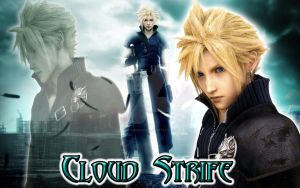 Cloud Strife by Ai-Hanabira