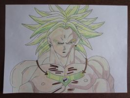 In Vic's Art Project: Broly by charlenequek