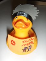 Kakashi Rubber Duck w out Mask by Oriana-X-Myst