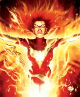 Dark Phoenix Rising by Protokitty