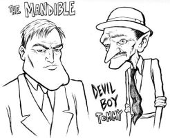 The Mandible and Devil Boy by SethWolfshorndl
