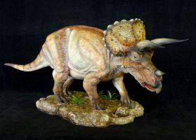 1:15 Scale Triceratops by Baryonyx-walkeri