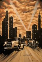 Dark Deco Number 4 by MrErixon
