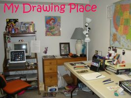 My Drawing Place by fanchielover15