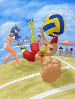 Beach Volleyball by k4glimit
