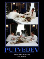 Putvedev Poster by vote-tennant