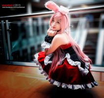 cosplay: Kuro Usagi by riskbreaker