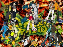 Jet Set Radio Tribute by TheShadowAlchemist