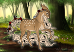 Princess Galadiell|Doe|Glenmore|Angry Rage Pillow by DatNachtmaehre