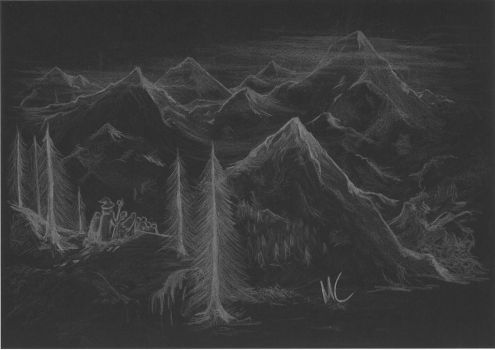 Misty Mountains Rise by Greedo2007