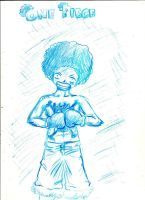Afro Power by A-Black-Angel