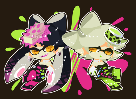 Squid Sisters by abc002310