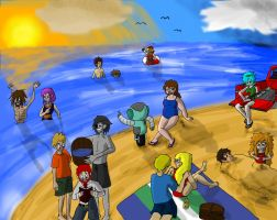 Beach Party! by FourOfFour