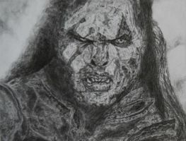 Lurtz the Uruk-Hai by forestdeer