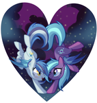 Girly Batpony Love by Wicklesmack